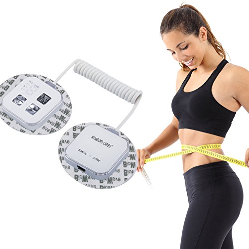 KINGDOMCARES Christmas Gifts Powerful Neck Shoulder Waist Belly Vibrating Massager Electric High-frequency Vibration Massager Pulse Weight Loss Slim Kneading Massage Programs Slimming Fat Burner