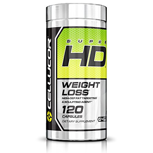 Cellucor, SuperHD Thermogenic Fat Burner Supplement for Weight Loss, G4v2, 120 Capsules