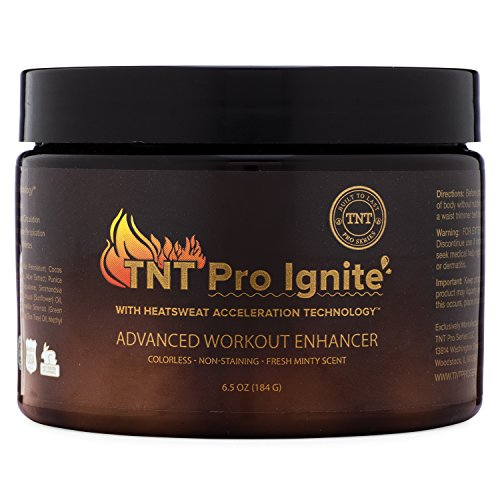 TNT Pro Ignite Stomach Fat Burner Body Slimming Cream With HEAT Sweat Technology – Thermogenic Weight Loss Workout Enhancer